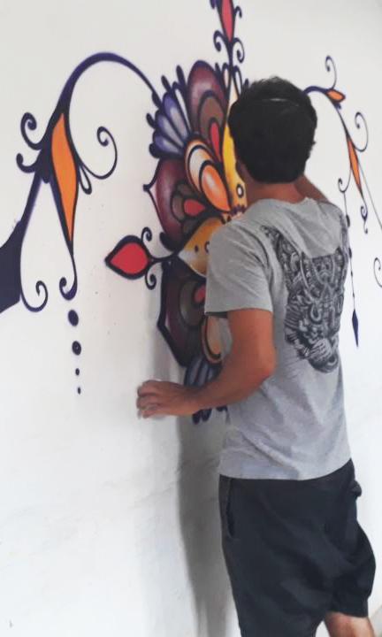Envolvimento de grafite e conhecimento